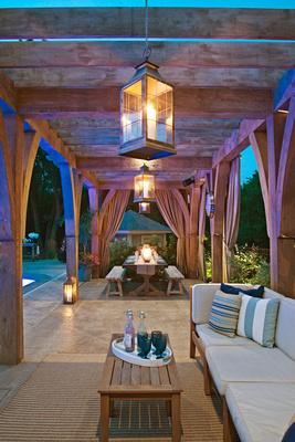 Outdoor space by Dan Waibel Designer | Builder